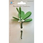 Little Birdie Crafts - Handmade Creation Collection - Mistletoe Stems - Green