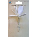 Little Birdie Crafts - Handmade Creation Collection - Mistletoe Stems - White