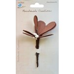 Little Birdie Crafts - Handmade Creation Collection - Mistletoe Stems - Brown