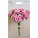 Little Birdie Crafts - Handmade Creation Collection - Curly Rose - Pink
