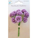 Little Birdie Crafts - Handmade Creation Collection - Curly Rose - Purple