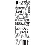 Luxe Designs Inc. - There's the Rub - Rub Ons - Girlie Words