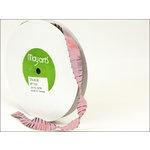 May Arts - Designer Ribbon - Satin Pleats - Light Pink - 20 Yards