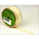 May Arts - Designer Ribbon - Twill Stripes - Champagne - 30 Yards
