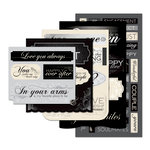 Momenta - Vellum Stickers - Message Pad - Marriage