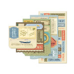 Momenta - Vellum Stickers - Message Pad - Travel
