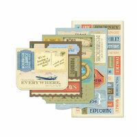 Momenta - Vellum Stickers - Message Pad - Travel