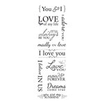 Momenta - Mini Vellum Stickers with Foil Accents - Romance