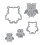 Momenta - Die Cutting Template - Owls