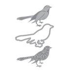 Momenta - Cut and Emboss Template - Birds