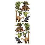 Momenta - Embossed Foam Stickers - Dinosaurs