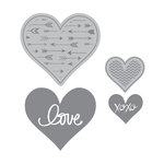 Momenta - Die Cutting Template - Hearts
