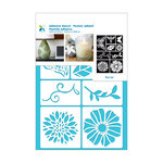 Momenta - Adhesive Stencils - Flowers and Bugs