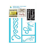 Momenta - Adhesive Stencils - Blessed