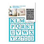 Momenta - Adhesive Stencils - Upper Case Serif Alphabet