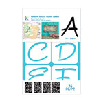 Momenta - Adhesive Stencils - Alphabet - 2 Inch