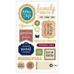 Momenta - Mixed Media Stickers - Family