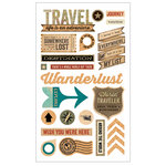 Momenta - Mixed Media Stickers - Travel