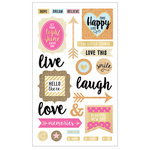 Momenta - Mixed Media Stickers - Inspirational