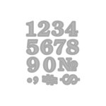 Momenta - Die Cutting Template - Numbers