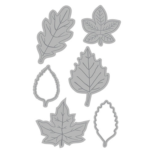 Leaves Cut and Emboss