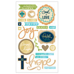 Momenta - Mixed Media Stickers - Faith
