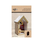 Art-C - Masonite Kits - Small - Mini House Box Kit
