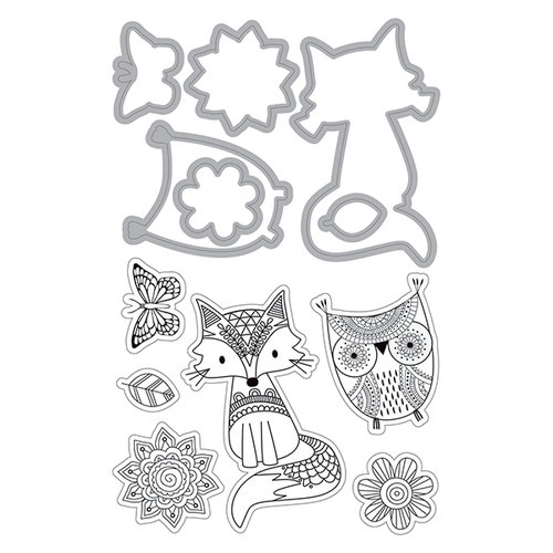Art-C Doodle Dreams Die and Stamp Set