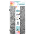 Momenta - The Explorer Journal Collection - Journal - Chunky Glitter - Silver