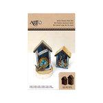 Art-C - Masonite Kits - Mini House Box Kit