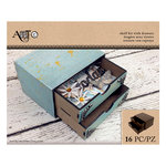 Art-C - Masonite Kits - Shelf Kit with Drawers