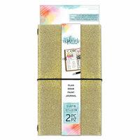 Momenta - The Explorer Journal Collection - Journal - Fine Glitter - Gold