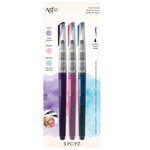 Art-C - Pre-Filled Waterbrushes - Purple, Magenta, Light Blue
