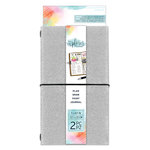Momenta - The Explorer Journal Collection - Journal - Fine Glitter - Silver
