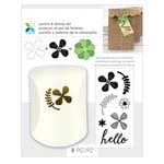 Momenta - Punch and Clear Acrylic Stamp Sets - Hello
