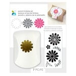 Momenta - Punch and Clear Acrylic Stamp Sets - Flowers