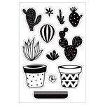 Momenta - Clear Acrylic Stamps - Build Your Own Cactus