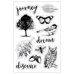 Momenta - Clear Acrylic Stamps - Nature