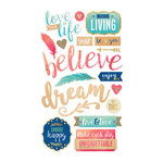 Momenta - Mixed Media Stickers - Love This Life