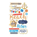 Momenta - Mixed Media Stickers - Nautical