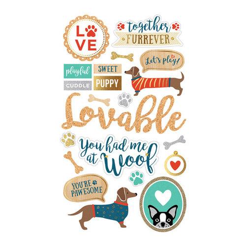 Momenta - Mixed Media Stickers - Dogs