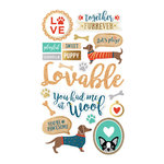 Momenta - Mixed Media Stickers - Dogs