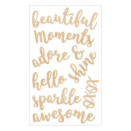 Momenta - Wood Stickers - Beautiful Moments Adore