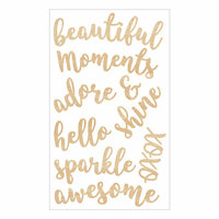 Momenta - Wood Stickers - Beautiful Moments Adore