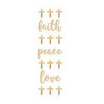 Momenta - Wood Stickers - Mini Faith