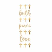 Momenta - Wood Stickers - Mini Faith