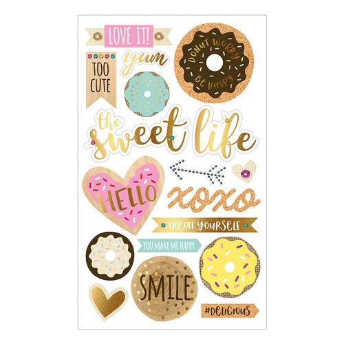 Momenta - Mixed Media Stickers - Donuts Sweet Life