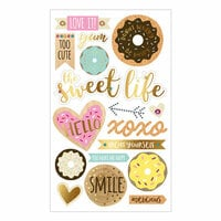 Momenta - Mixed Media Stickers - Donuts Sweet Life