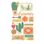 Momenta - Mixed Media Stickers - Cactus