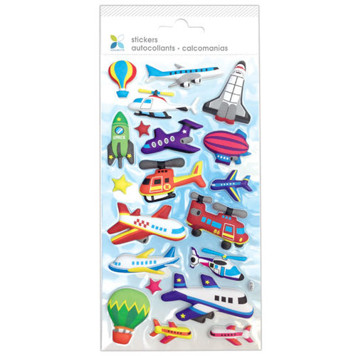 Momenta - Puffy Stickers - Airplane